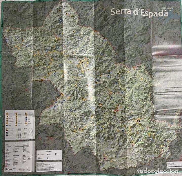 Mapas contemporáneos: Mapa Parc Natural de la Serra d'Espadà - Foto 3 - 269693983