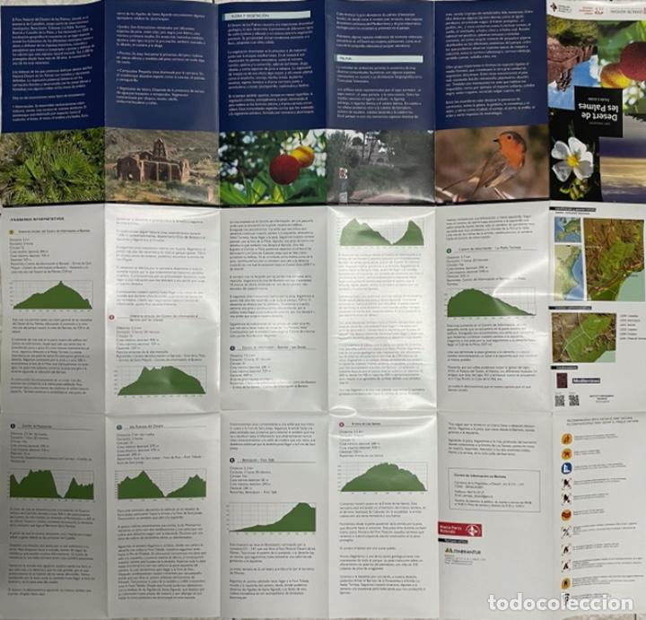 Mapas contemporáneos: Mapa Parc Natural del Desert de les Palmes - Foto 3 - 269699143