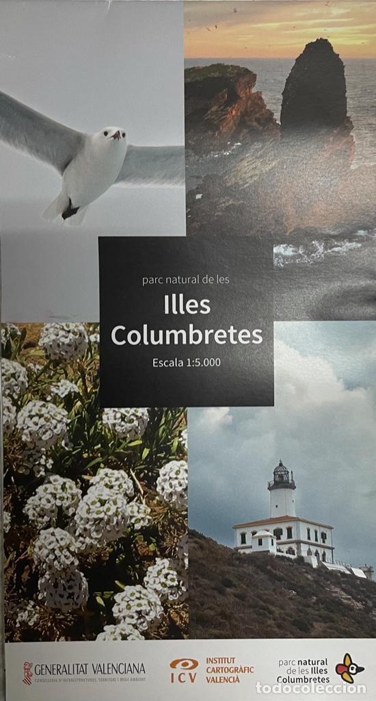 MAPA PARC NATURAL DE LES ILLES COLUMBRETES (Coleccionismo - Mapas - Mapas actuales (desde siglo XIX))