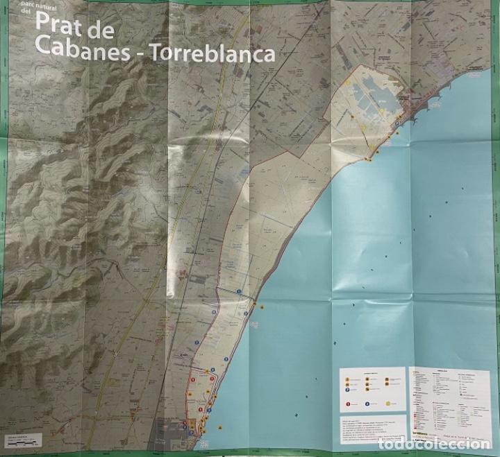 Mapas contemporáneos: Mapa Parc Natural Del Prat de Cabanes - Torreblanca - Foto 2 - 269701313