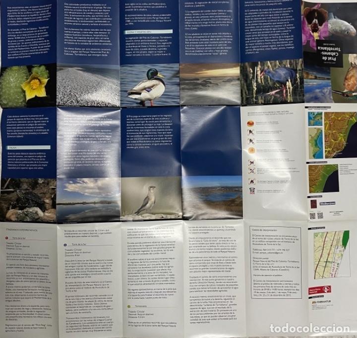 Mapas contemporáneos: Mapa Parc Natural Del Prat de Cabanes - Torreblanca - Foto 3 - 269701313