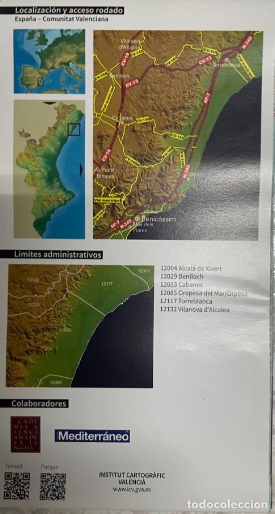 Mapas contemporáneos: Mapa Parc Natural Del Prat de Cabanes - Torreblanca - Foto 4 - 269701313