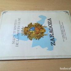 Mapas contemporáneos: MAPA TURISTICO DE LA PROVINCIA DE ZARAGOZA 1 : 200.000 DIPUTACION PROVIN115X110 CM APROXIMADO / AJ39. Lote 269773608
