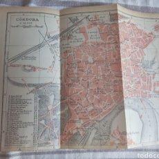 Mapas contemporáneos: CORDOBA PLANO/MAPA 1914 EDICION ESPAÑOLA. Lote 269814013