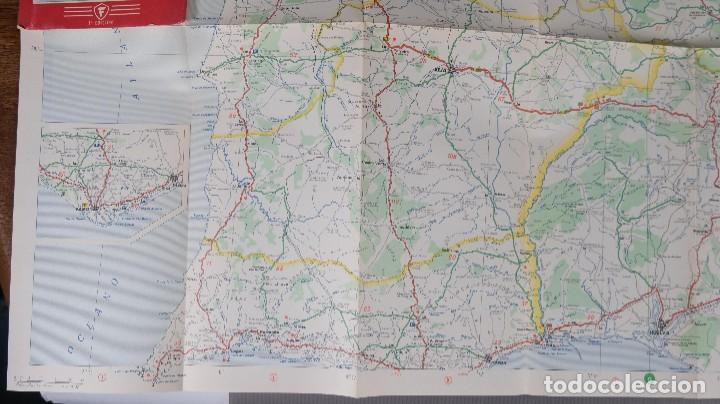 Mapas contemporáneos: Mapas de carreteras de España Firestone - número 7, primera edición años 50 - Foto 6 - 270153353