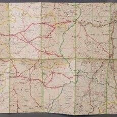 Mapas contemporáneos: MAPA DE CARRETERAS BADAJOZ AÑOS 40. Lote 270153673