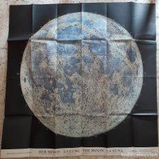 Mapas contemporâneos: HALLWAG DER MOND THE MOON - LA LUNA 1:5000 000. Lote 273196463