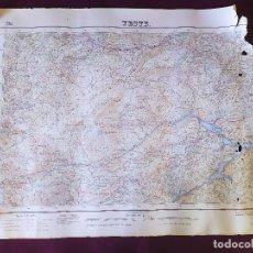 Mapas contemporáneos: 1956, MAPA DE YESTE, INSTITUTO GEOGRÁFICO Y CATASTRAL, UNOS 68 X 49 CMS. ESCALA 1/50000. Lote 275498218