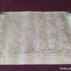 Cartes géographiques contemporaines: 1955, MAPA DE HELLÍN, INSTITUTO GEOGRÁFICO Y CATASTRAL, UNOS 69 X 50 CMS.. Lote 275500398
