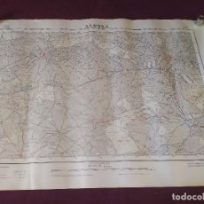 Mapas contemporáneos: 1950´S, MAPA DE ALPERA, INSTITUTO GEOGRÁFICO Y CATASTRAL, UNOS 69 X 50 CMS.. Lote 275502108