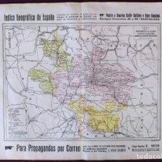 Cartes géographiques contemporaines: 1930´S, MAPA DE ÁLAVA, BAILLY-BAILLIÈRE Y RIERA REUNIDOS, BARCELONA, ÍNDICE GEOGRÁFICO DE ESPAÑA. Lote 275507118