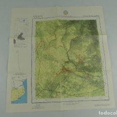 Cartes géographiques contemporaines: MAPA MILITAR ESPAÑA, SERVICIO GEOGRAFICO DEL EJERCITO ENCLAVE DE LLIVIA. Lote 275710918