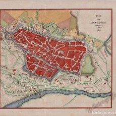 Mapas contemporáneos: MAPA ANTIGUO SIGLO XIX AUGSBURGO BAVIERA ALEMANIA 1813 DATADO - RÖDER. Lote 275805108