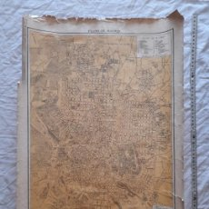Cartes géographiques contemporaines: PLANO DE MADRID. CASA EDITORIAL SEGUI, BARCELONA. Lote 276443203