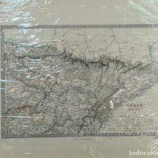 Mapas contemporáneos: MAPA DEL NOROESTE DE ESPAÑA. GRABADO SOBRE PAPEL. C. WALKER. LONDRES. 1853.. Lote 276641038
