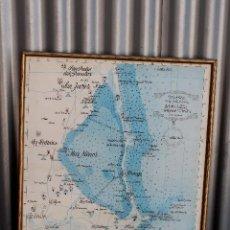 Cartes géographiques contemporaines: CARTA NAUTICA DE LA COSTA CALIDA - DESDE CABO DE PALOS A SAN PEDRO DEL PINATAR - MAR MENOR - MURCIA. Lote 276693308