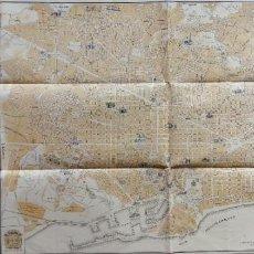 Mapas contemporáneos: PLANO DE BARCELONA 1952. Lote 277153283