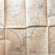 Mapas contemporáneos: MAPA MILITAR ITINERARIO DE ESPAÑA – 1916. Lote 277153453