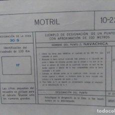 Mapas contemporáneos: MOTRIL (GRANADA) MAPA MILITAR - E. 1:100.000 - 10-22- AÑO 1974. Lote 278578228