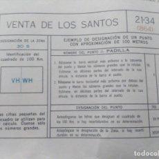 Mapas contemporáneos: VENTA DE LOS SANTOS (JAÉN) MAPA MILITAR - E. 1:50.000 - 21-34 (864) - AÑO 1970. Lote 278578578