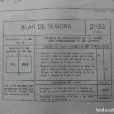 Mapas contemporáneos: BEAS DE SEGURA (JAÉN) MAPA MILITAR - E. 1:50.000 - 21-35 (886) - AÑO 1968. Lote 278578823