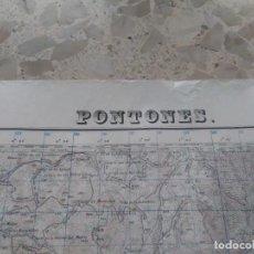 Mapas contemporáneos: PONTONES (JAÉN) MAPA MILITAR - E. 1:50.000 - 908 - AÑO 1931 - PRIMERA EDICIÓN. Lote 278579378