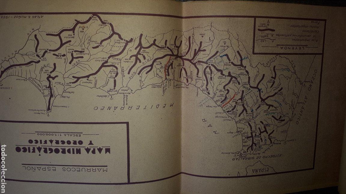 Mapas contemporáneos: Atlas Geografico del Marruecos Español y posesiones en Africa - Foto 4 - 278594693