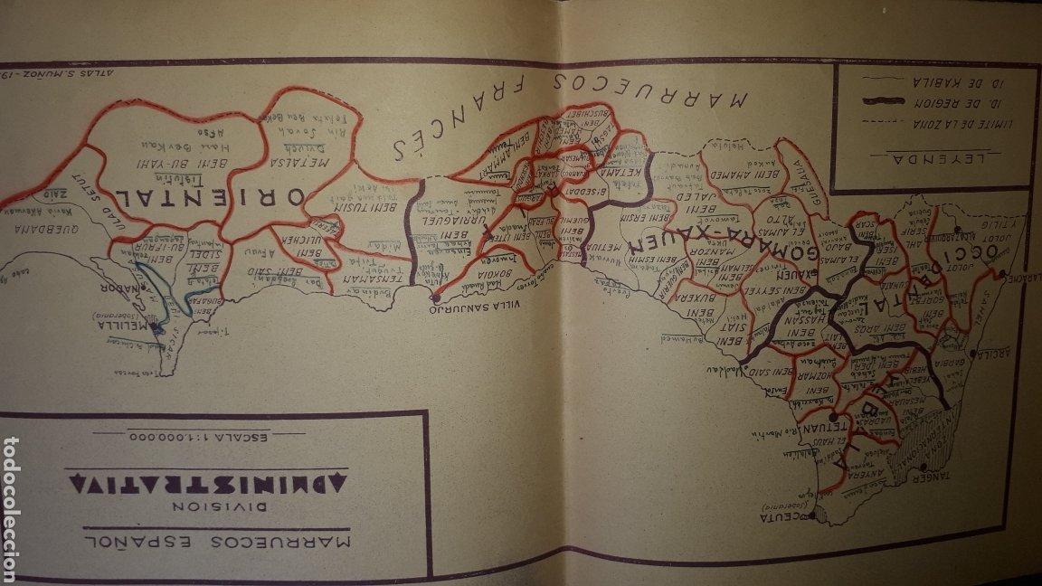 Mapas contemporáneos: Atlas Geografico del Marruecos Español y posesiones en Africa - Foto 5 - 278594693