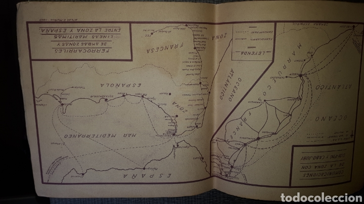 Mapas contemporáneos: Atlas Geografico del Marruecos Español y posesiones en Africa - Foto 8 - 278594693