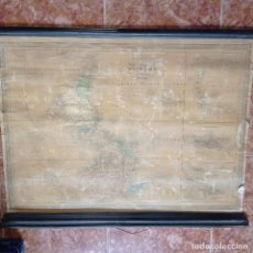 Mapas contemporáneos: MAPA GENERAL DE AMERICA DUFOUR 1878. Lote 279434728