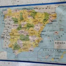 Mapas contemporáneos: MAPA ESCOLAR POLÍTICO ESPAÑA. Lote 279462028