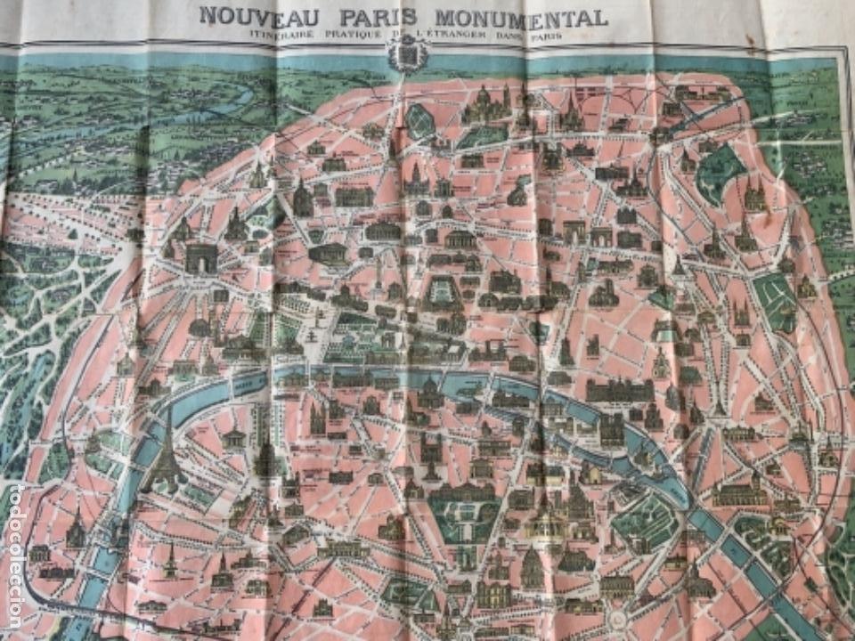 Mapas contemporáneos: PARIS PLANO AÑOS 30 GUIA CALLES A.LECONTE EDITEUR - Foto 12 - 285749898