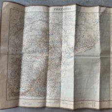 Mapas contemporáneos: PRETORIA MAPA PUBLICADO SERVICIO ARMADA FRANCESA 1896 HOJA 55. Lote 285754618