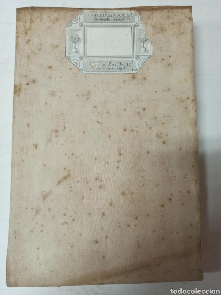 Mapas contemporáneos: CARTA MILITARE DEL REGNO DETRURIA AÑO 1806 POR G. BORDIGA. GRAN MAPA ENTELADO - Foto 9 - 286628748