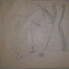 Mapas contemporáneos: MADRID. RARISIMO PLANO DEL DISTRITO DE LA LATINA. CREO QUE DE PRINCIPIOS DE SIGLO XX. 111X80CM. Lote 287112198