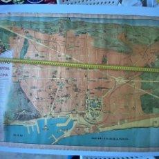 """Mappe contemporanee: ANTIGUO PLANO MONUMENTAL DE BARCELONA """"ATRACCIÓN DE FORASTEROS""""VER FOTOS.4,36 ENVÍO CERT.. Lote 287544718"""