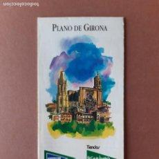 Mappe contemporanee: PLANO CALLEJERO MAPA TURÍSTICO DE GIRONA. 1999. EL CORTE INGLÉS.. Lote 288217823