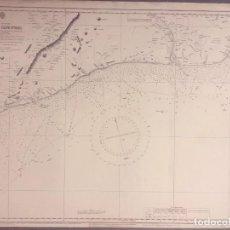Mapas contemporáneos: NAUTICAL CHART OF THE WEST COAST OF AFRICA FROM BARAKO (BERAKU) TO CAPE ST PAUL, GHANA. Lote 291933083