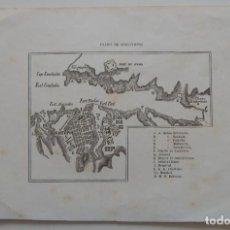 Mapas contemporáneos: ANTIGUO MAPA / PLANO DE SEBASTOPOL. Lote 292091538
