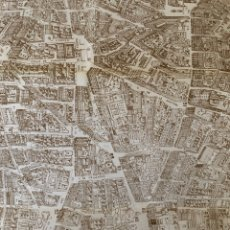 Mapas contemporáneos: 1986 ANTIGUO PLANO MAPA MADRID ESPAÑA 90 CM APROX. Lote 292134598