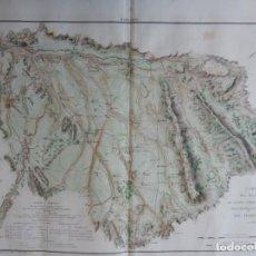 Mapas contemporáneos: GRABADO FRANCÉS 1810 - CARTE DES ENVIRONS DE LERIDA, TARREGA ET BALAGUER / MARGALEF - INDEPENDENCIA. Lote 292401013
