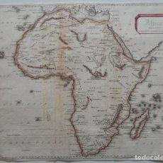 Mapas contemporáneos: ANTIGUO MAPA / AFRICA ENGRAVED FOR MORISON'S MODERN GAZETTEER. Lote 292529633