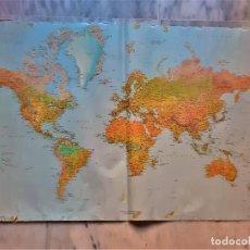 Mapas contemporâneos: MAPA DEL MUNDO - 68 X 99.CM - PAPEL. Lote 292540053