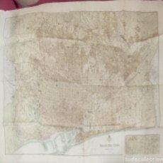 Mapas contemporáneos: 1935 - MAPA DE BARCELONA - ESCALA 1:10.000 - SEIX Y BARRAL -. Lote 292555173