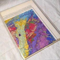 Mapas contemporâneos: MAPA GEOLÓGICO 1:1000.000 DE LA REPÚBLICA FEDERAL DE ALEMANIA. Lote 293657618
