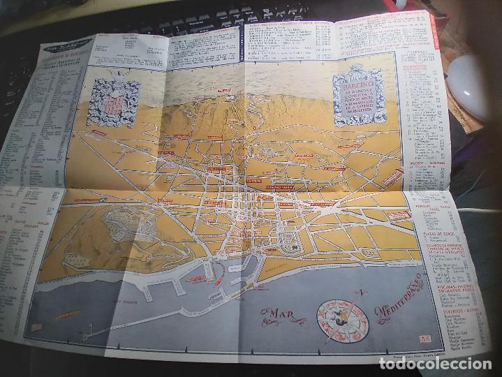 Mapas contemporáneos: PLANO BARCELONA - DESPLEGABLE - Foto 2 - 293665283