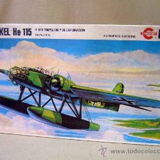 Maquetas: AVION, MODELISMO, HEINKEL HE 115, CONGOST, REVELL, SERIE 4, 1/72, MODEL KIT, 35 X 20 X 4 CM, 1980. Lote 30870851