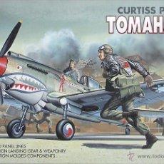 Maquetas: MAQUETA ACADEMY/MINICRAFT 1/72 CURTISS P-40B TOMAHAWK #1655. Lote 57197729