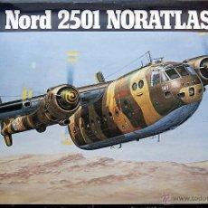 Maquetas: MAQUETA HELLER 1/72 NORD 2501 NORATLAS - 1980 #350. Lote 40148208