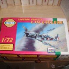 Maquetas: CAUDRON RENAULT C-714 CYCLONE, SMER 1/72. Lote 46063319
